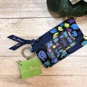 NWT: Vera Bradley Card Wallet/Zip ID Holder